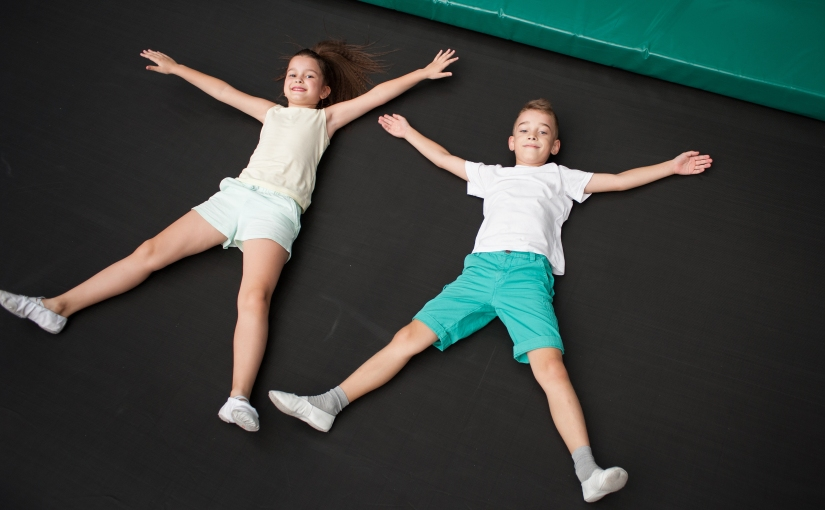 Want to Feel Your Age Really Quick?  Take Your Kids to the Trampoline Park/Ninja Warrior Training Center aka… Fly High.